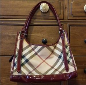 Burberry Ashmore Supernova Tote 100% Authentic